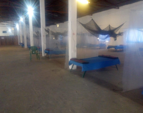 Hulas Steel Industries provides 40 bed sheets to quarantine facility in Simara