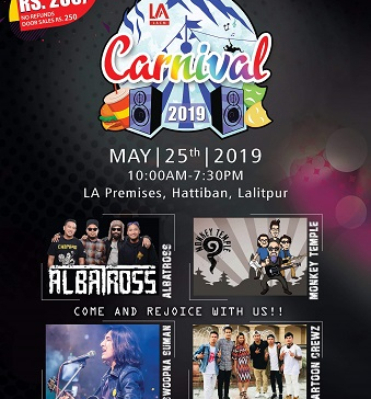 Second LA Carnival on May 25