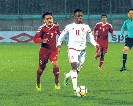 Nepal faces another defeat, qualification hope ended
