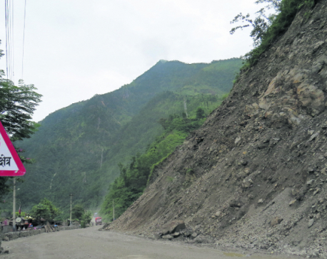 29 places on Narayanghat-Mugling road highly prone to landslides