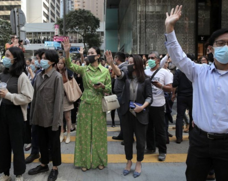 Last campus protesters hold out as Hong Kong schools reopen