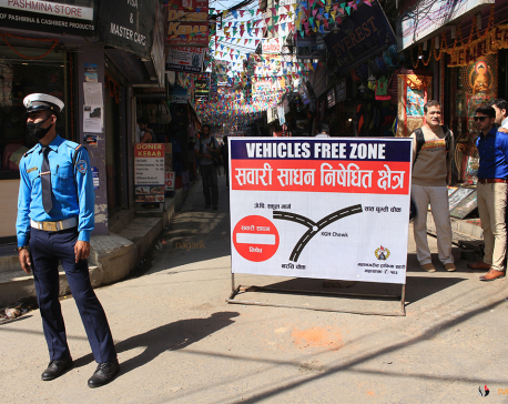 'No-vehicle Zone' a boon for porters in Thamel