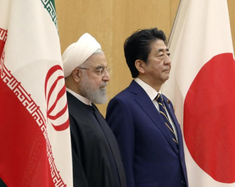 Iran's Rouhani in Japan to meet Japan PM amid nuke impasse