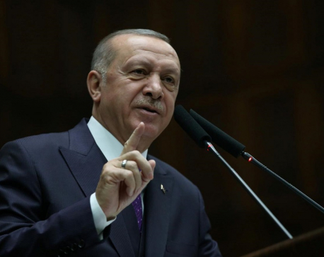 Turkey will hit Syrian government forces anywhere including by air if troops hurt - Erdogan