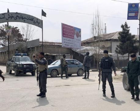 Gunmen kill at least 27 at memorial for Afghan Shiite leader