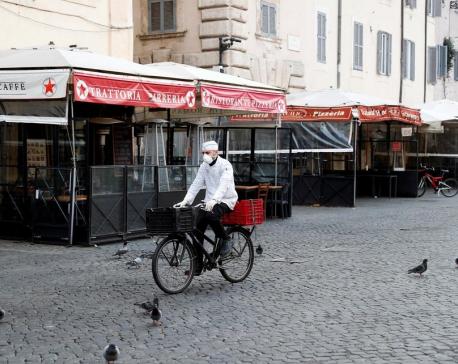 Italian coronavirus deaths jump 36% to 631