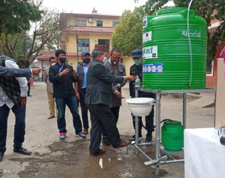 Water Aid Nepal to install 50 contactless handwashing stations in Kathmandu and Siraha