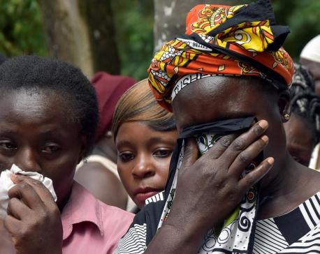 Rushing downstairs at end of school, 14 Kenyan children killed in stampede