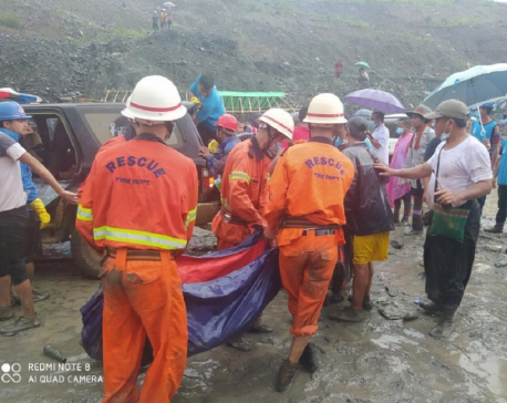 Death toll in Myanmar landslide surges past 100