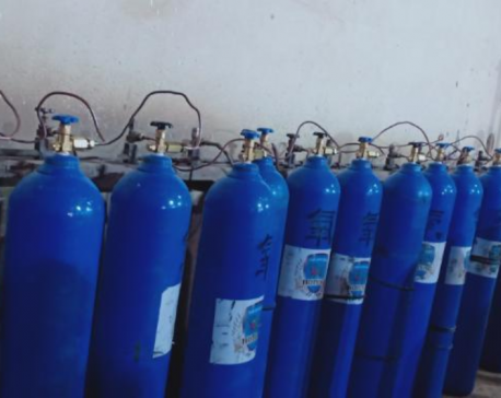 450 oxygen cylinders travel 3000km to save lives in Nepal