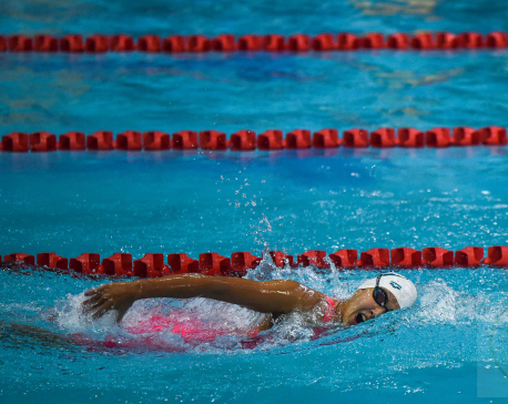 Gaurika Singh bags first gold for Nepal in swimming (with photos)