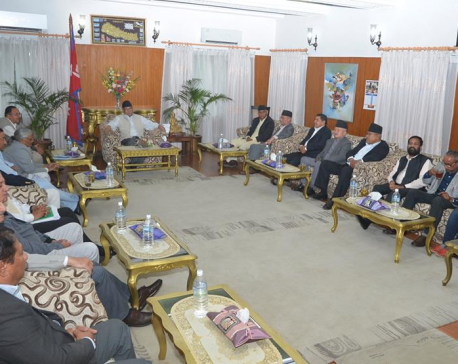 Five parties stress on political consensus