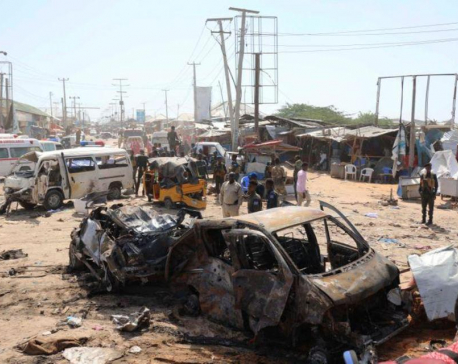 Mogadishu checkpoint blast kills at least 61 - ambulance official