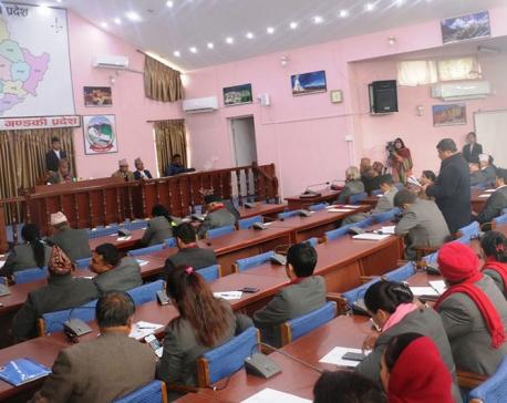Bill presented in Gandaki province SA