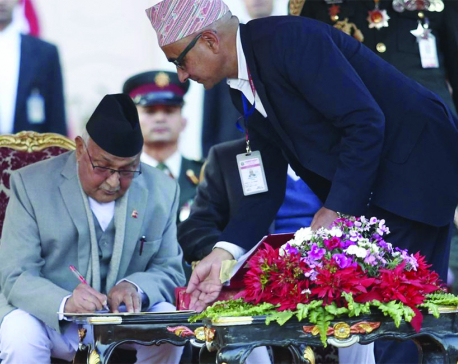 Taking Nepal forward