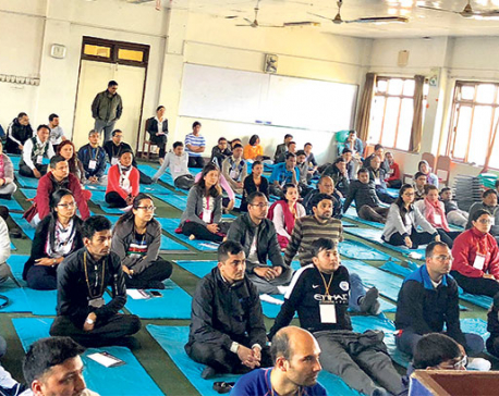 Session for mind management, stress relief