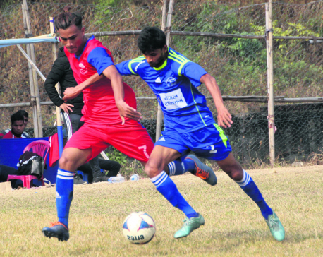 Police, Central Region into semifinals