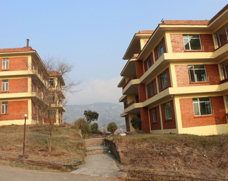 Two NEA buildings at Kharipati being readied for quarantine of China returnees