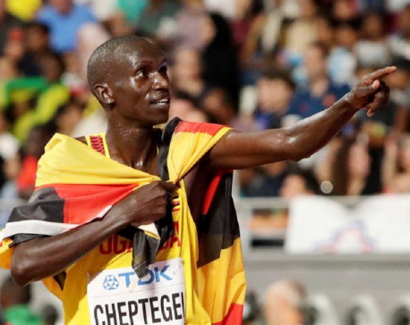 Uganda's Cheptegei smashes 5km world record