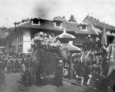 Nostalgia: Coronation of Tribhuvan in 1913