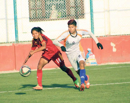 Sabitra's only goal secures top spot for APF