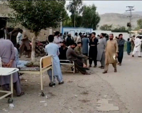 At least 20 killed in earthquake in southern Pakistan