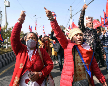 Pro-monarchy protesters continue to hit streets of Kathmandu