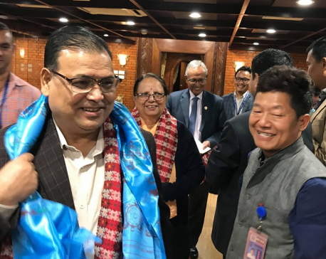 Speaker Mahara leaves for Kazakhstan