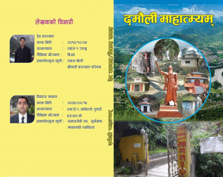 Book highlighting Damauli's historic identity released