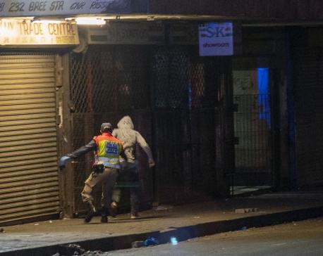 South Africa has 1st coronavirus deaths as lockdown begins