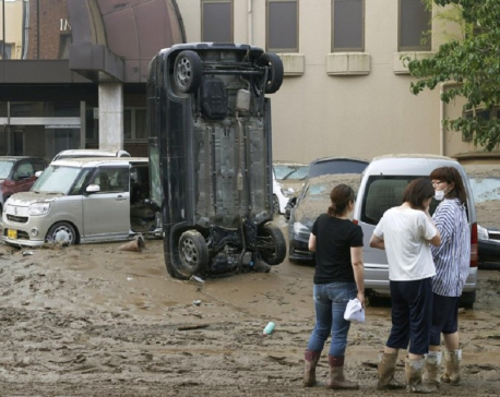 Japan floods leave some 20 dead, many in nursing homes