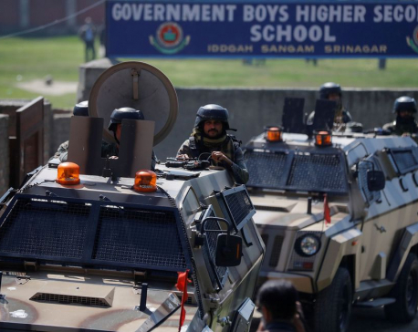 Hundreds detained in security crackdown in Kashmir-Indian police officials