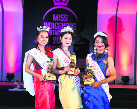 Ravna Tandukar is Miss Indigenous 2017