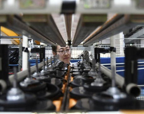 China factory activity improves in September amid trade war