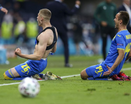 Ukraine scores late in extra time, beats Sweden at Euro 2020