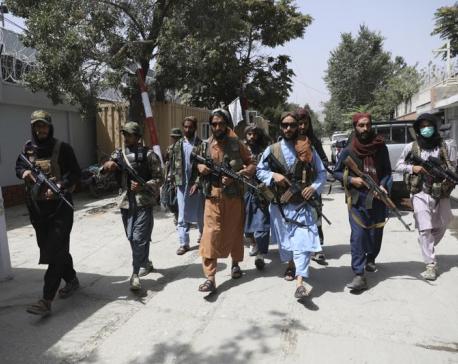 Taliban destroy statue of Shiite foe from 1990s civil war