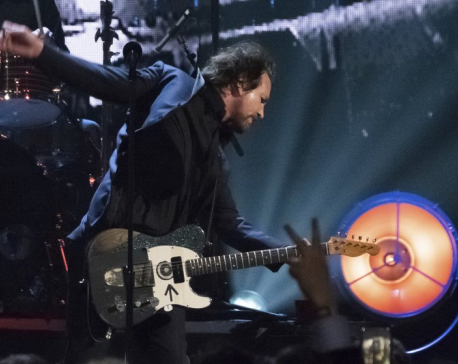Pearl Jam postpones first leg of tour over virus concerns