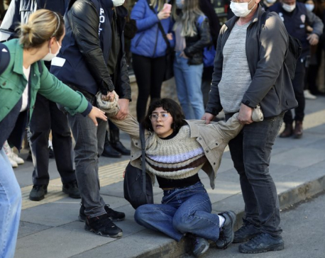 Turkish president takes action at protest-rocked university