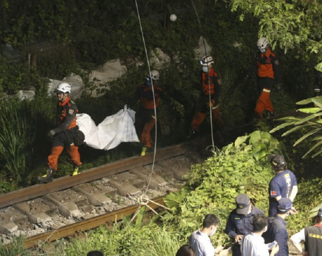 UPDATE: Train hits truck that slid onto track in Taiwan, killing 51