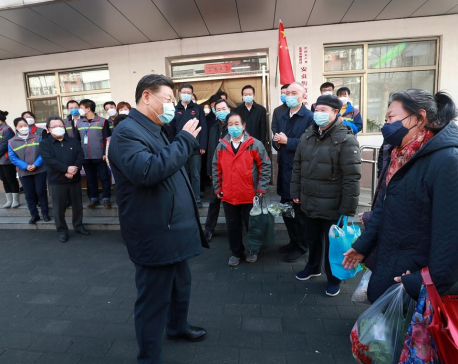 China still in crucial stage of coronavirus battle, says Xi