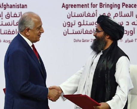 Iran dismisses U.S.-Taliban agreement over Afghanistan