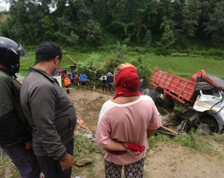 Locals demand strict punishment for tipper driver (with photos)