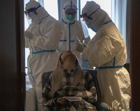 World virus infections top 800,000; Spain sees record deaths