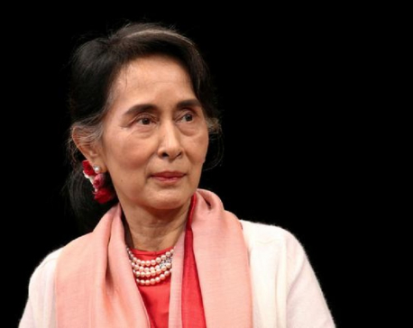 Myanmar's Suu Kyi urged people to oppose a coup: published statement