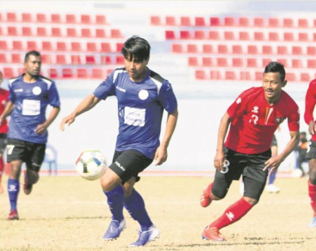 Gurung's goal helps NRT down Police