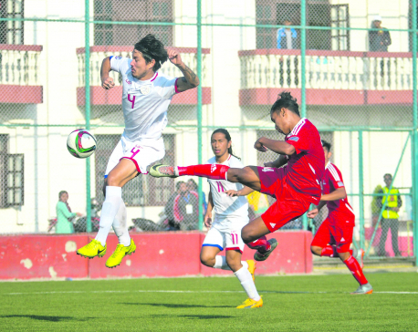 Nepal, Philippines play goalless draw