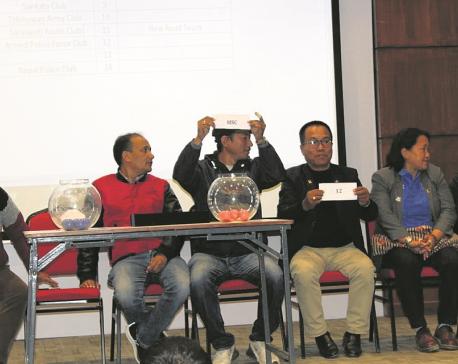 Manang, Chyasal boycott draw as A-Division League kick-off set on Dec 14