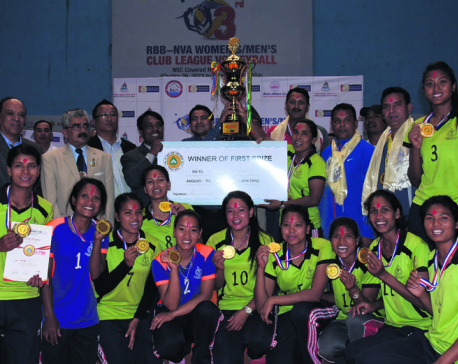Army, APF crowned as men's, women's champions in league volleyball
