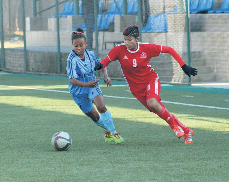 Army, APF start with comfortable wins, Sabitra continues goal riot