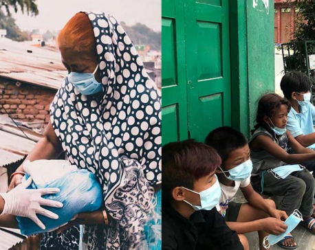 Friends came together to help the people in need during lockdown. They are now feeding thousands in Kathmandu and beyond